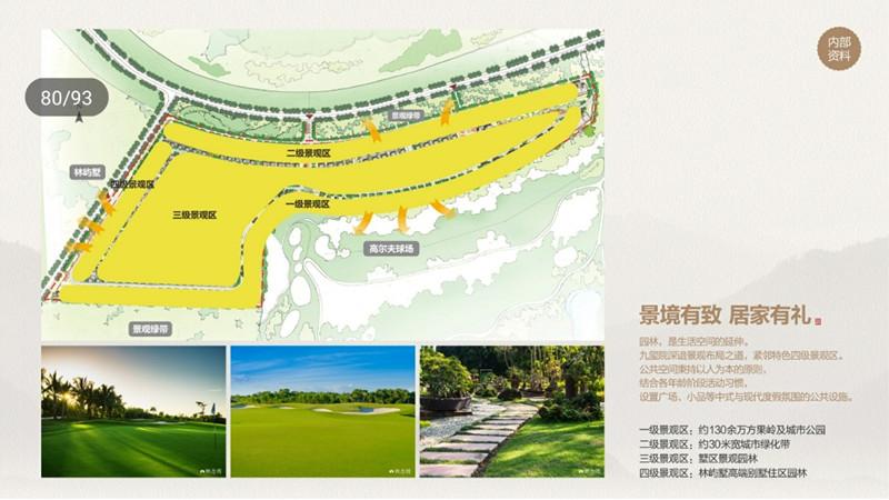 中海神州半岛九玺园规划图1