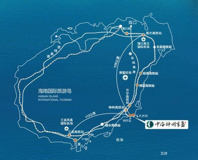 中海神州半岛九玺园区位图2