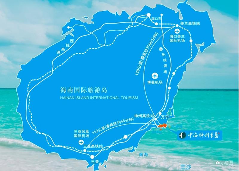 神州半岛区位图2