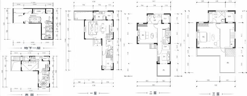 4室2厅3卫 183.44㎡(建面)