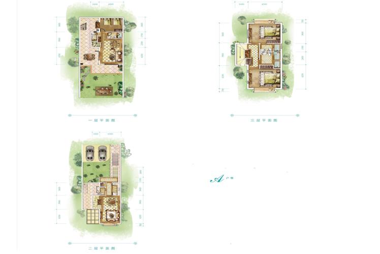 别墅 3室4厅4卫 212.07㎡(建面