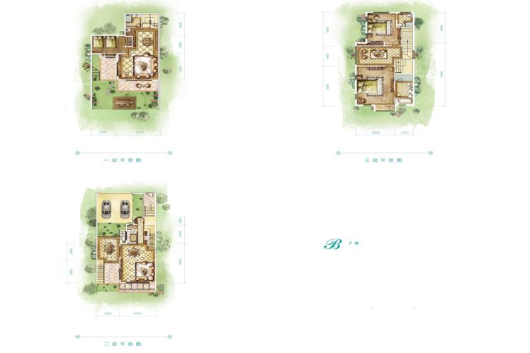 别墅 3室4厅4卫 296.53㎡(建面
