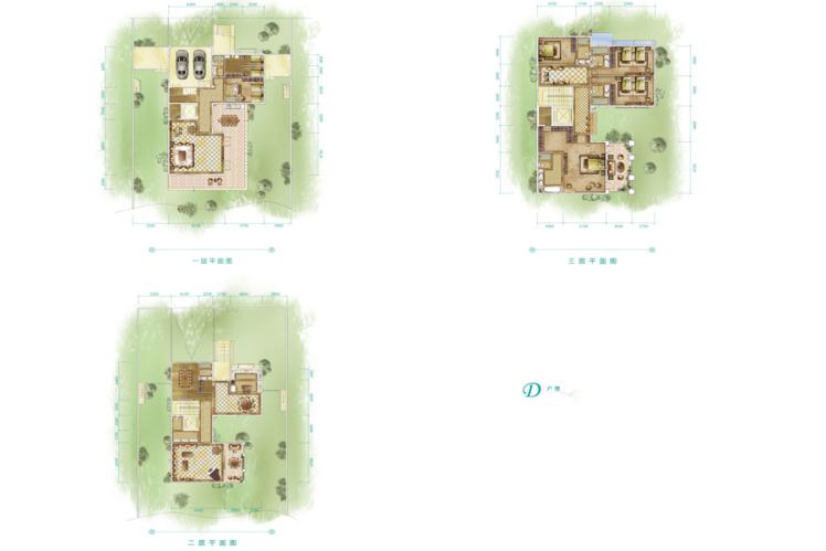 别墅 4室5厅5卫 650.76㎡(建面