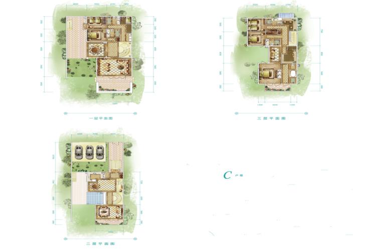 别墅 5室4厅4卫 422.31㎡(建面