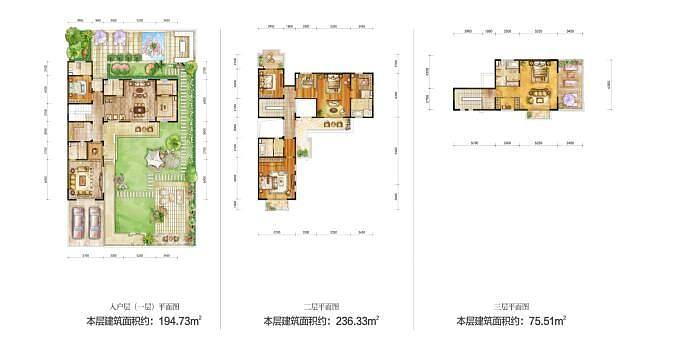 4室2厅5卫3阳台1厨 439.22㎡